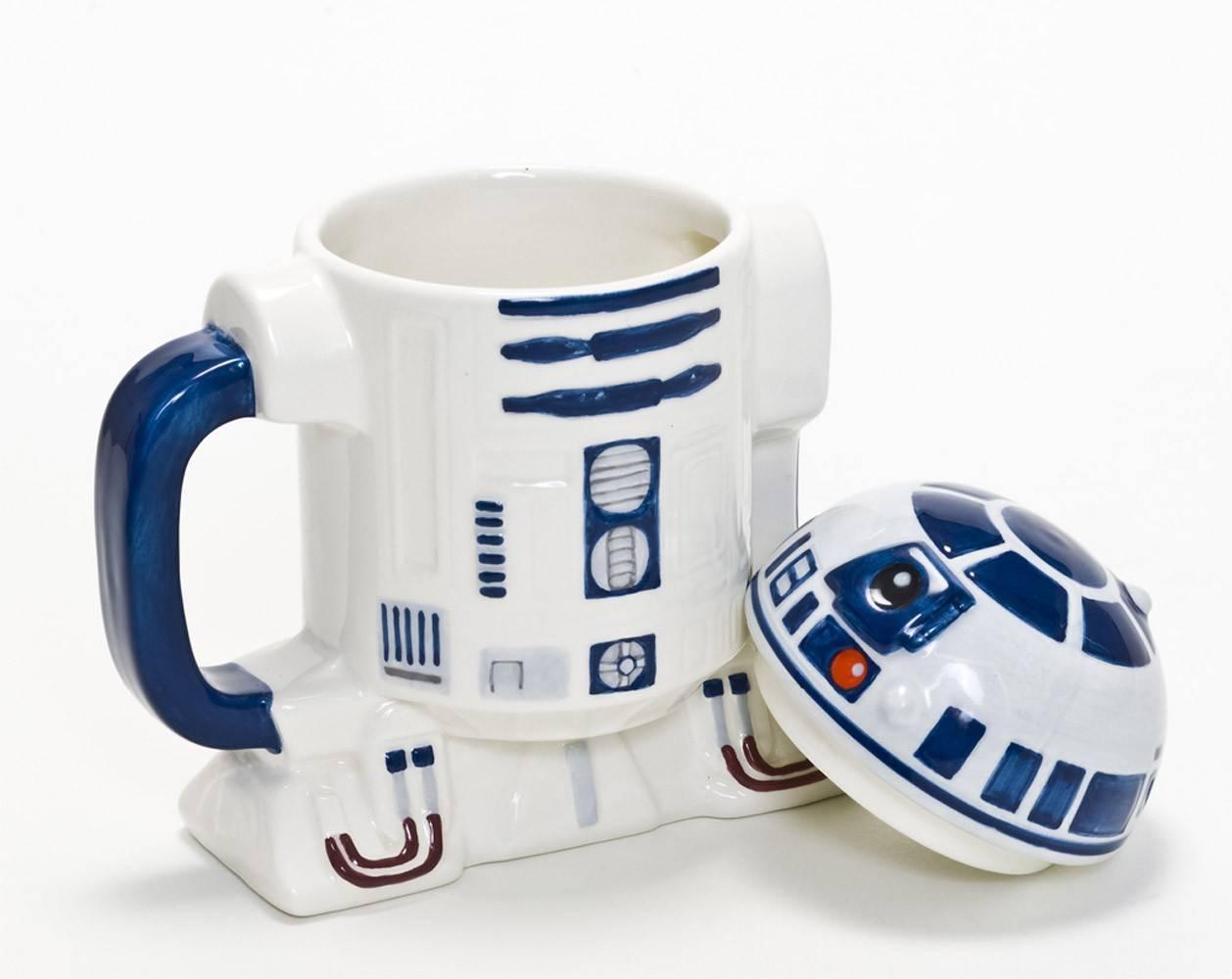 Kubek z pokrywką Star Wars R2 D2