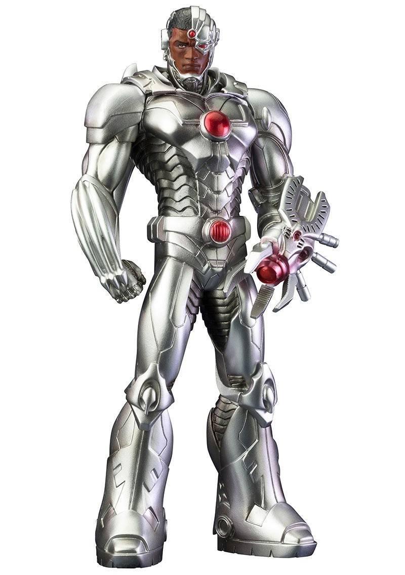 Figurka DC Comics Justice League ARTFX+ PVC Statue 1/10 Cyborg (The New 52) 21 cm