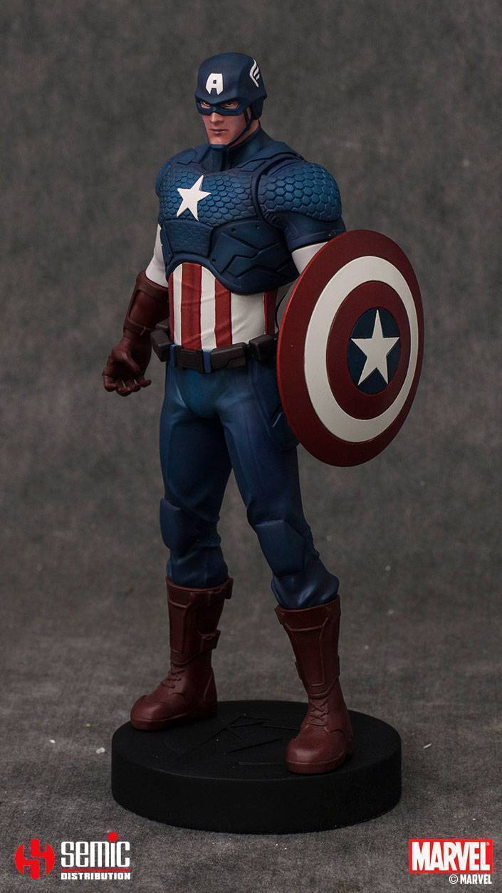 figurka marvel comics captain america. Black Bedroom Furniture Sets. Home Design Ideas