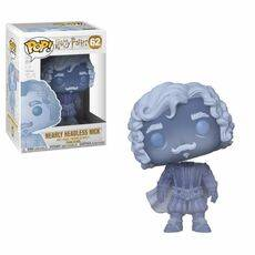 Figurka Harry Potter POP! - Nearly Headless Nick (Blue Translucent) 9 cm