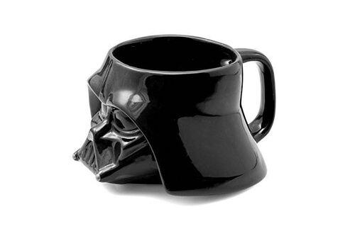 Kubek ceramiczny z pokrywką Star Wars 3D - Darth Vader