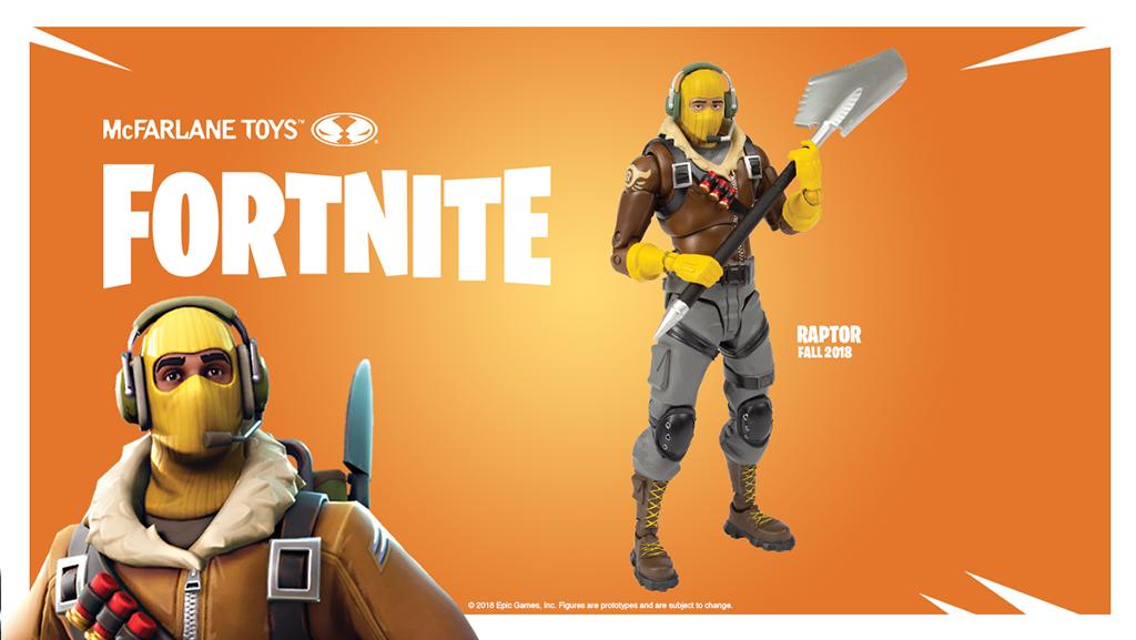 Figurka Raptor McFarlane Toys Fortnite