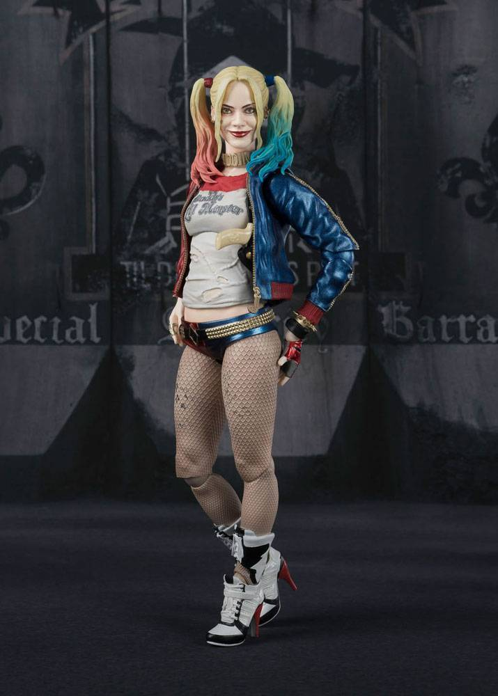 figurka suicide squad s h figuarts harley quinn. Black Bedroom Furniture Sets. Home Design Ideas