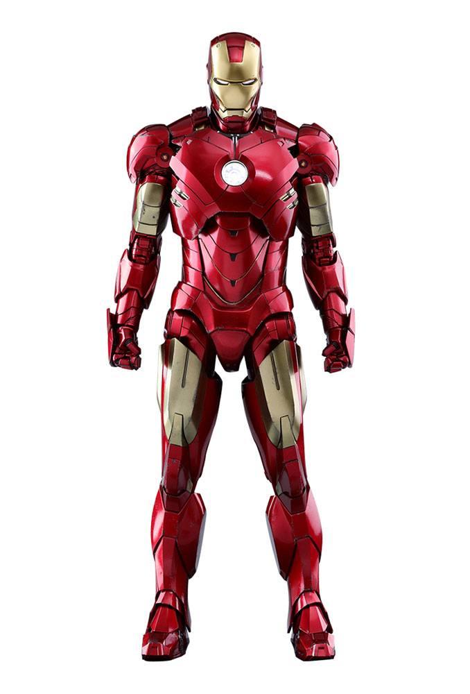 Iron Man 2: Figurka Iron Man 2 Diecast Movie Masterpiece 1/6 Iron Man