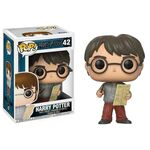 Figurka Harry Potter POP! - Harry Potter with Marauders Map 9 cm