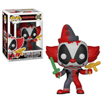 Figurka Marvel Comics POP! - Clown Deadpool 9 cm, zdjęcie 1