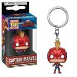 Brelok Captain Marvel POP! - Captain Marvel (z hełmem)