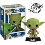 Figurka Star Wars POP! Vinyl Bobble-Head Yoda 10 cm