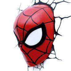 Lampka 3D LED Marvel - Maska Spider-Man, zdjęcie 1