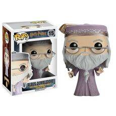 Figurka Harry Potter POP! - Dumbledore with Wand 9 cm