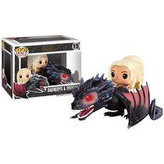 Figurka Game of Thrones POP! - Daenerys & Drogon 18 cm