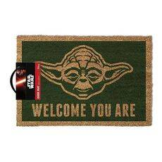 Wycieraczka Star Wars Yoda - Welcome You Are 40 x 60 cm
