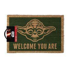 Wycieraczka Star Wars Yoda - Welcome You Are 40 x 60 cm, zdjęcie 1