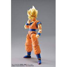 Figurka do złożenia Dragon Ball Z - Super Saiyan Son Goku (ruchoma)