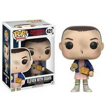 Figurka Stranger Things POP! - Eleven With Eggos 9 cm