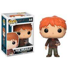 Figurka Harry Potter POP! - Ron Weasley with Scabbers 9 cm