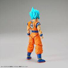 Figurka do złożenia Dragon Ball Z - Super Saiyan God Super Saiyan Son Goku (ruchoma)