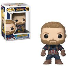 Figurka Avengers Infinity War POP! - Captain America