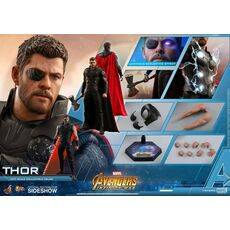 Figurka Avengers Infinity War Movie Masterpiece 1/6 Thor