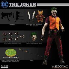 Figurka DC Comics 1/12 The Joker Clown Prince of Crime Edition 17 cm