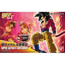 Figurka do złożenia Dragon Ball Z - Super Saiyan 4 Son Goku (ruchoma)