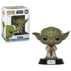 Figurka Star Wars Clone Wars POP! - Yoda