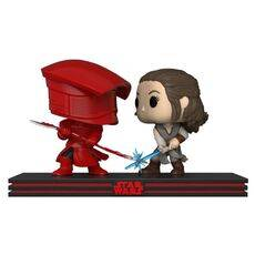 Diorama Star Wars: Movie Moments POP! Rey & Praetorian Guard