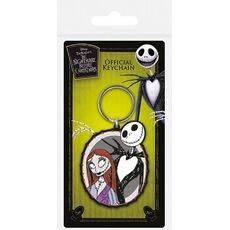 Brelok gumowy Nightmare Before Christmas - Jack and Sally