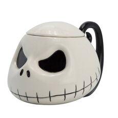 Kubek ceramiczny z pokrywką Nightmare Before Christmas - Jack (450 ml)