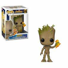 Figurka Avengers Infinity War POP! - Groot with Stormbreaker