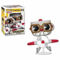 Figurka Cuphead POP! - Aeroplane Cuphead