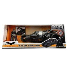 Model samochodu The Dark Knight Diecast 1/24 2008 Batmobile (Wraz z figurką Batman)