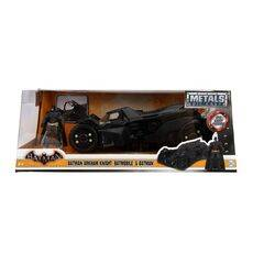 Model samochodu Batman Arkham Knight Diecast 1/24 2015 Batmobile (Wraz z figurką Batman)