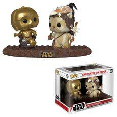 Diorama Star Wars: Movie Moments POP! C-3PO on Throne