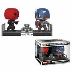Diorama Marvel POP! Movie Moments - Captain America & Red Skull