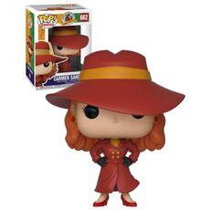 Figurka Carmen Sandiego POP!