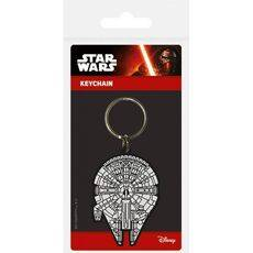 Brelok gumowy Star Wars - Millennium Falcon