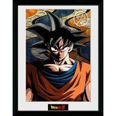 Plakat w ramie Dragon Ball Z - Son Goku 45 x 34 cm