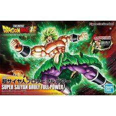 Figurka do złożenia Dragon Ball Super - Super Saiyan Broly Full Power (ruchoma)