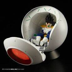 Model pojazdu do złożenia Dragon Ball Z - Saiyan Space Pod