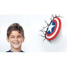 Lampka 3D LED Marvel Comics - Tarcza Captain America