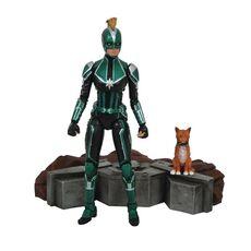 Figurka Marvel Select - Captain Marvel Starforce Uniform