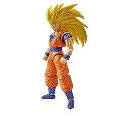 Figurka do złożenia Dragon Ball Z - Super Saiyan 3 Son Goku (ruchoma)