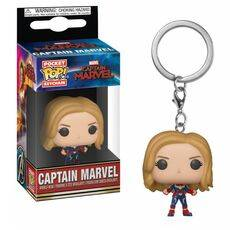 Brelok Captain Marvel POP!