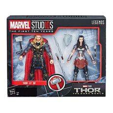 Zestaw figurek Marvel Legends - Thor & Lady Sif (Thor: The Dark World)