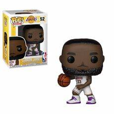 Figurka NBA POP! Sports - LeBron James White Uniform (Lakers)
