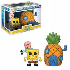 Figurka SpongeBob Kanciastoporty POP! SpongeBob & Pineapple