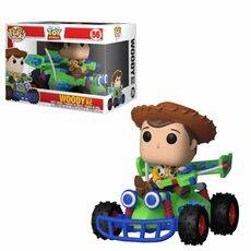 Figurka z pojazdem Toy Story POP! - Woody & RC