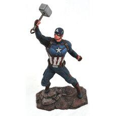 Figurka Avengers Endgame Marvel Gallery - Captain America Mjolnir, zdjęcie 1