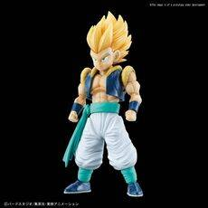 Figurka do złożenia Dragon Ball Z - Super Saiyan Gotenks (ruchoma)
